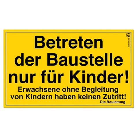 Baustellenschild Kaufen by Baustellenschilder Jetzt Online Im Wl Versand Kaufen