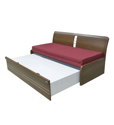 Pepperfry Sofa Bed by Spacewood Urbano Slider Storage Sofa Bed By Spacewood