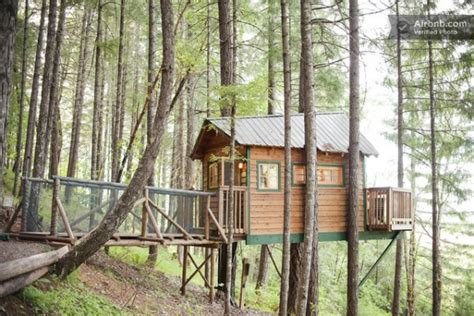 Treehouse Cabins by Treehouse Cabin Rental In Cave Junction Oregon
