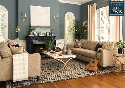jeff lewis living room formal room inspiration living spaces shine on styled by