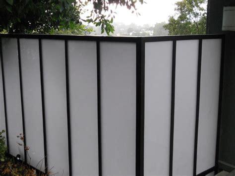 Plexiglass Fence Fencing Solutions Plexiglass Fence Modern Fence Design