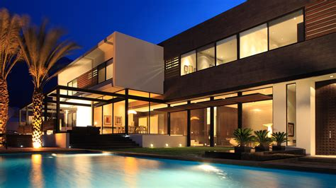 Home Decor Led Lights by Contemporary House In Monterrey Mexico For A Luxurious