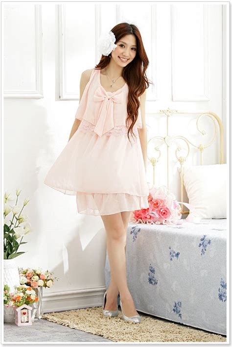 Dress Korea Pink By Griyaaglie korean clothes wholesale clothes zone