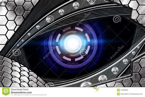 imagenes de ojos roboticos ojo abstracto del robot foto de archivo imagen 44468058