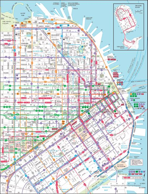 san francisco map trolley mapas de s 227 o francisco eua mapasblog
