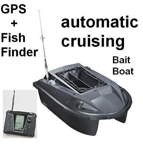 fishing bait boat with gps newest rc fishing bait boat automatic cruising gps sonar