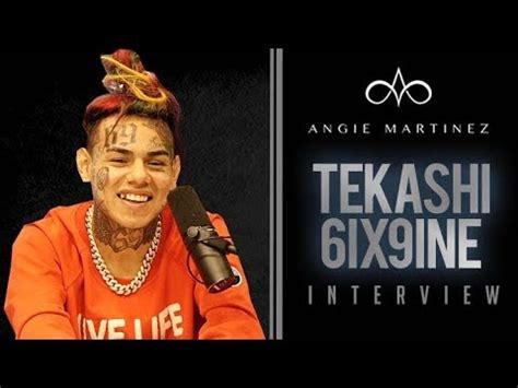 video: 6ix9ine interview w/ angie martinez – itsbizkit