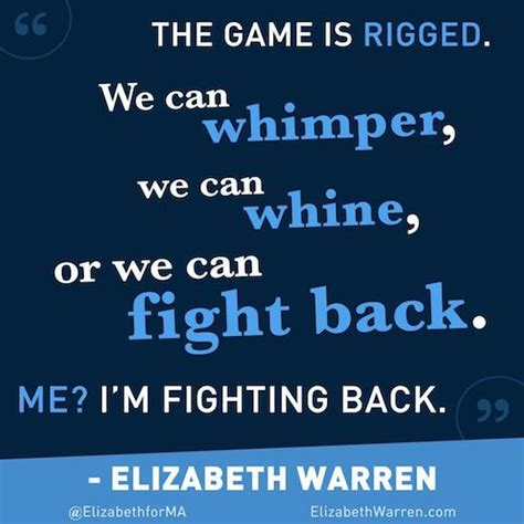 Fight Back shequotes elizabeth warren fights back she quotes