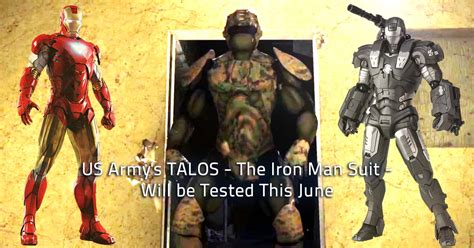 Tactical Assault Light Operator Suit Us Army S Talos The Iron Man Suit Will Be Tested This