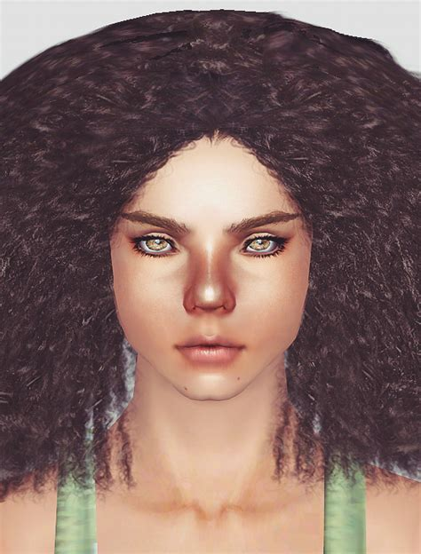 sims 3 african american hairstyles afro hairstyle 01 by momo sims 3 hairs
