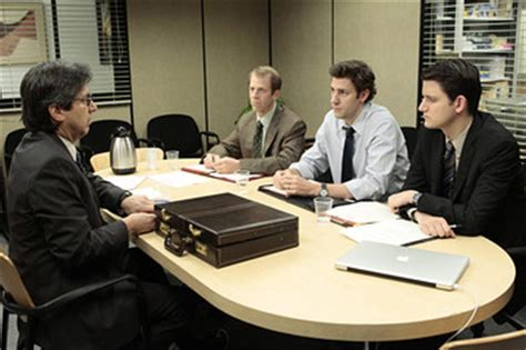 Office Wiki The Office Season 7 Finale Spader Romano And