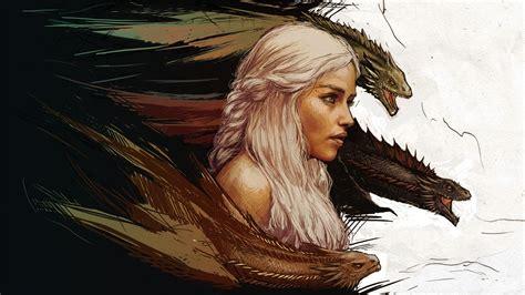 Game of thrones khaleesi wallpaper digitalart io
