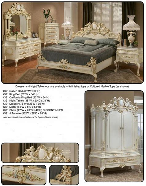 baroque bedroom furniture baroque bed santa maria baroque bedroom furniture