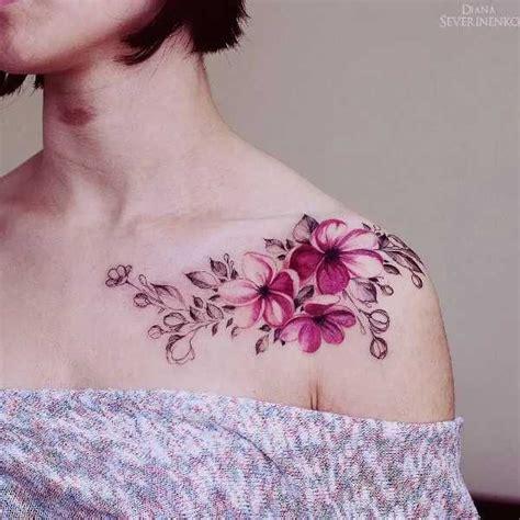 die 25 besten ideen zu watercolor flower tattoos auf