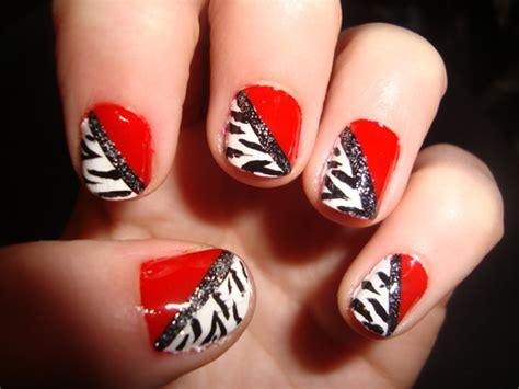 Dark Line On Fingernail by Best Of Red Nails Design Women Styler