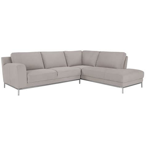 gray microfiber sectional city furniture wynn lt gray microfiber right chaise sectional