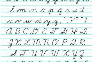 the for cursive writing babycenter