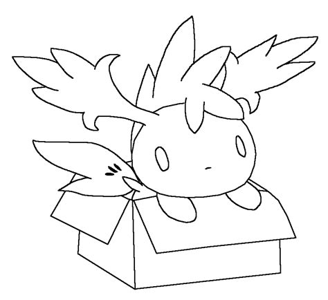 shaymin sky form coloring pages az coloring pages