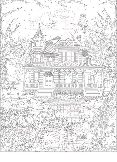 adult haunted house 17 images about coloring pages on pinterest coloring hidden pictures and free