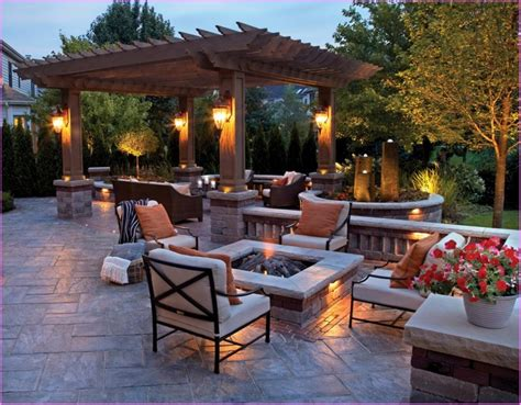 outdoor patio designs on a budget frugal patio ideas with pit on a budget lestnic