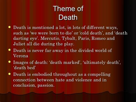 macbeth themes of loss romeo and juliet powerpoint