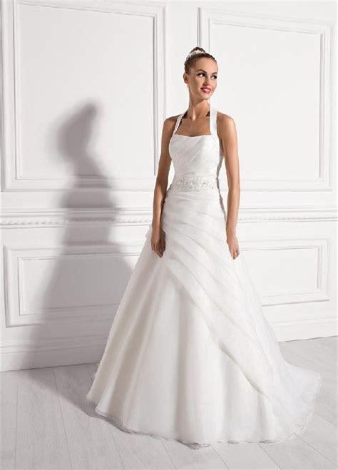 Brautkleider Neckholder by Neckholder Asymmetrisch Organza Hochzeitskleider
