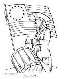 american coloring pages american flag 4th of july coloring pages