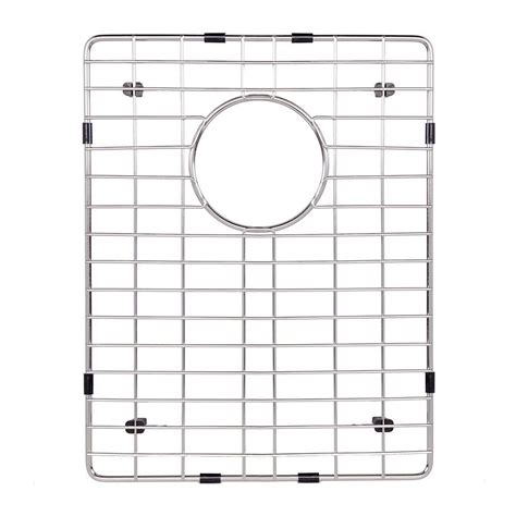 Kitchen Sink Bottom Grid Vigo 16 25 In X 12 75 In Kitchen Sink Bottom Grid Vgg1613 The Home Depot