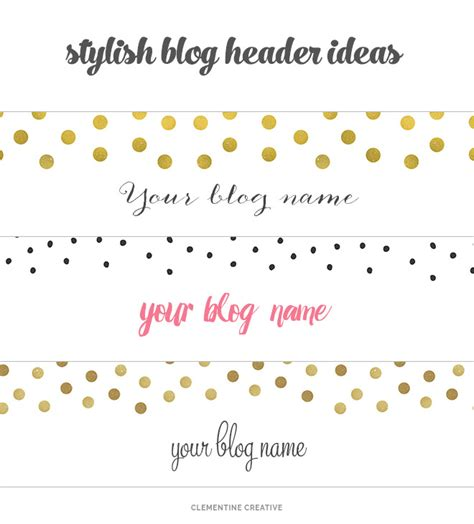 blogger names free creative blog headers to download