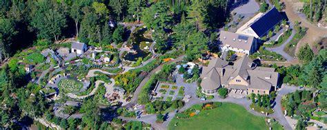 coastal botanical gardens maine coastal me botanical gardens spruce point inn resort spa