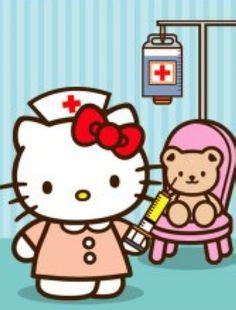 hello kitty nurse wallpaper wallpaper hello kitty nurse by mfsyrcm deviantart com on