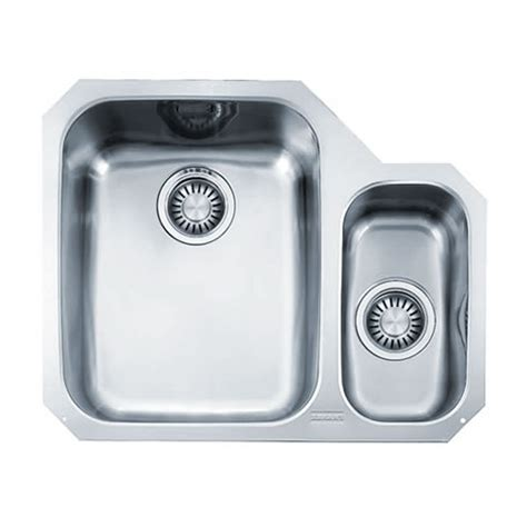 franke stainless steel sinks undermount franke ariane arx 160 undermount stainless steel