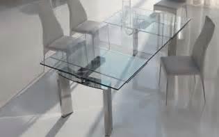 glass expandable dining:  daytone glass expandable dining table image title poswjpg
