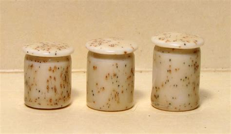 Top Coral Sparkling Canister Set Small Set Of 3 Medina Murah tiny dollhouse canister set