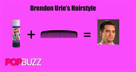 Brendon Urie Hairstyle by Brendon On A Budget Panic At The Disco Style Guide Popbuzz