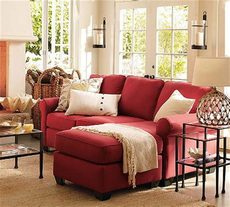 red sofa living room knockout knockoffs pottery barn buchanan living room