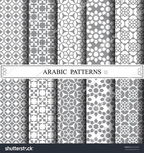svg pattern fill offset arabic vector patternpattern fills web page stock vector