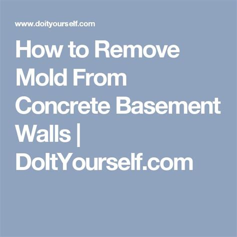 1000 ideas about concrete basement walls on