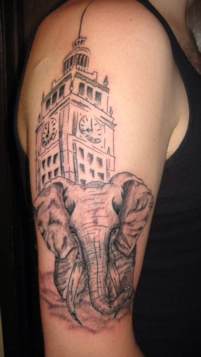 elephant tattoo by threedayslong on deviantart
