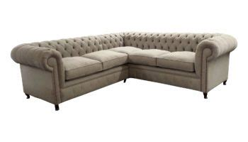 Handmade Chesterfield Sofas Uk - handmade chesterfield corner sofas made in any leather or