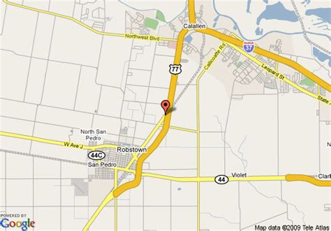map of robstown texas map of americas best value inn robstown