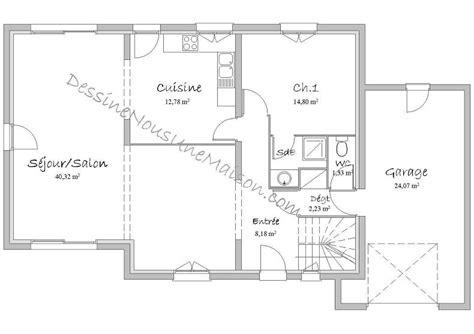 plan de maison contemporaine 4 chambres plan maison etage 4 chambres gratuit 1 plans de maisons