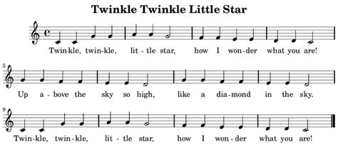 twinkle testo how the song twinkle twinkle achieved