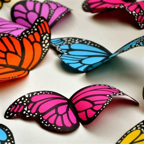 Paper Butterflies Craft - diy paper butterflies craft by photo