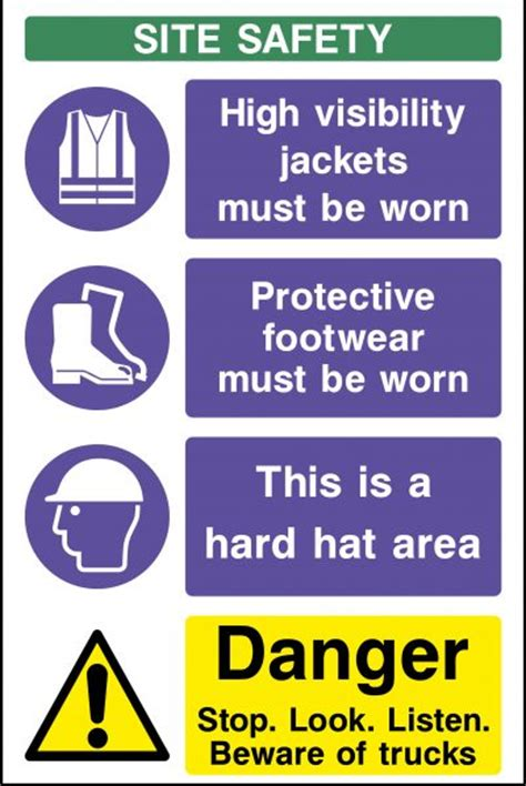Signs For Sheds by Construction Signs Site Safety Signs For The Building