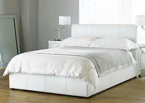 white bed beautiful white color leather beds by time4sleep freshnist