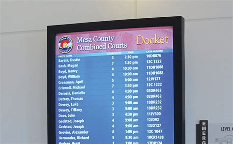 Mesa Court Records Infax Projects Mesa County Justice Center