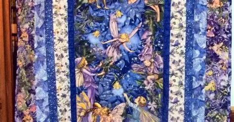Handmade Fairies For Sale - sale beautiful handmade quilt made with fabric from