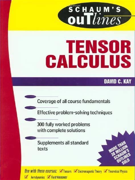 Schaums Outline Of Understanding Calculus Concepts by 57253677 Schaum S Tensor Calculus 238 Pdf