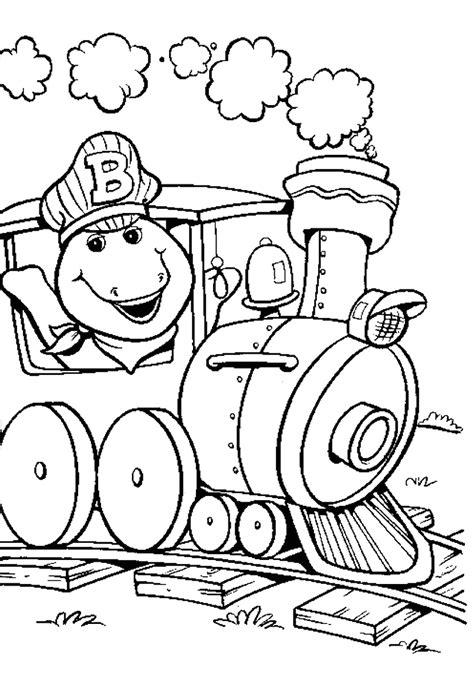 Go Barneys The Fall Barney Color by האתר הגדול בישראל לדפי צביעה להדפסה ואונליין באיכות מעולה